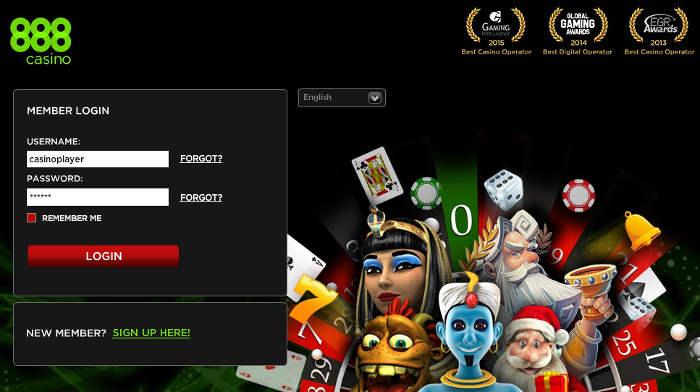 888 Casino Cadastro